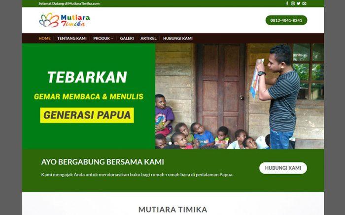 jasa pembuatan website mutiara-timika