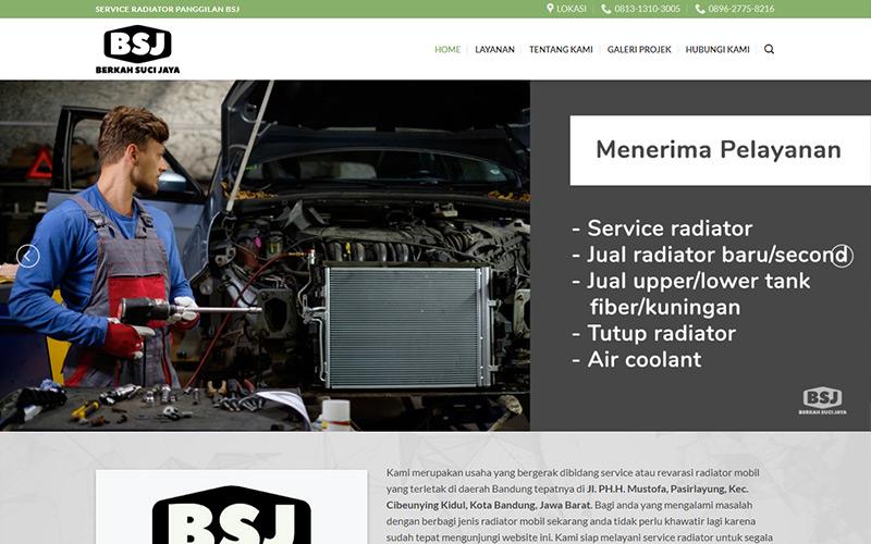 service radiator bandung