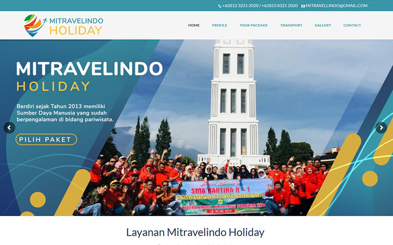 mitravelindo holiday